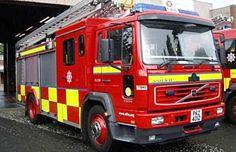 Fire Engine, Appliance, Northern Ireland, Great Britain, Volvo, Engineering, British, Country, Vehicles