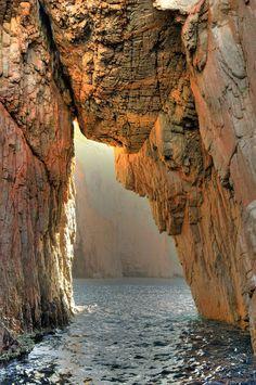 Capu Rossu, Corsica, France. Photo by saladdin.