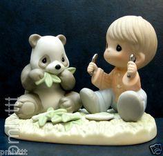 I love pandas! precious moments figurines endangered species | EQ Precious Moments RARE Panda Endangered Species LE7500 | eBay