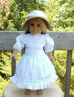 American Girl Doll Clothes  Summer Dress and by capecodcuriosities, $55.00