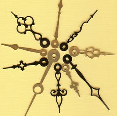 vintage clock art - Google Search