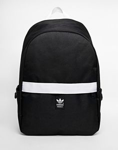 adidas Originals Backpack with Contrast Zip at asos.com 10a16c33af3e8