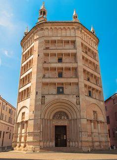 The Baptistery of Parma, Emilia Romagna, Italy