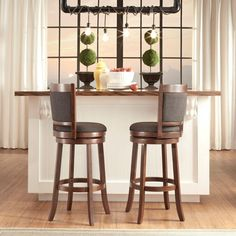 Tribecca Home Verona Panel Back Linen Swivel Bar Height Stool, Brown Swivel Counter Stools, Counter Height Bar Stools, Kitchen Stools, High Back Bar Stools, Bar Stools With Backs, Best Bar Stools, Stool Cushion, Stylish Chairs, Verona
