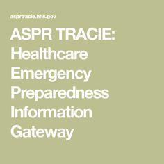 ASPR TRACIE: Healthcare Emergency Preparedness Information Gateway