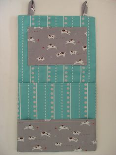 DIY Mail organizer - with sewing directions
