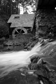 Mountain Brook Mill    Mountain Brook Mill in Birmingham, AL.  This is actually someone's house just outside of Birmingham.