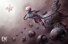 The Journey, Derek Stenning on ArtStation at https://www.artstation.com/artwork/the-journey-1f3ae94a-f494-432b-b526-694a7cde4639