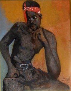 Boscoe Holder, Trinidad and Tobago Caribbean Art, Men Art, History Images, Black Image, Afro Art, Black African American, African Diaspora, Black Artists, Global Art
