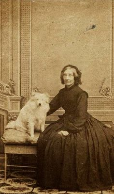 Vintage Doggy: Women and their Dogs