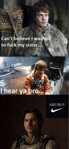 Star wars vs game of thrones lol