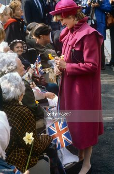 Prince Charles and Princess Diana visit Liverpool on April 2, 1982