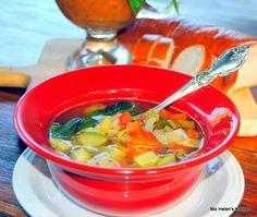 Miz Helen's Country Cottage: Summer Soup au Pistou
