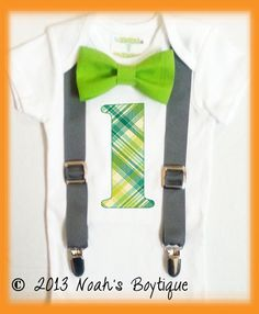 THIS IS DEFINITELY JAMES OUTFIT!!  Boys First Birthday Clothing  Cake Smash Outfit  by   NoahsBoytiques, $22.00