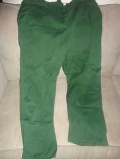 Womens Denim & Co. Green Pants Size XL. Find me at www.dandeepop.com