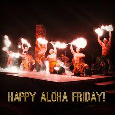 Happy Aloha Friday from Chief's Luau on Oahu!