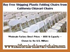 #California #Chiavari #Chairs Is Your Dependable Provider Of Folding  Tables, Folding And