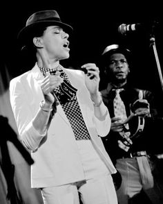 Pauline Black of The Selecter. Saw them live in Birmingham Poly while in college (and Radio 1 DJs Pete Powell and Mike Reid were there too!)