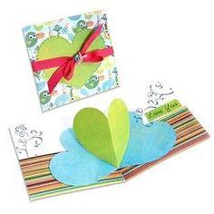 Sizzix Bigz XL Die - Card, Heart (Pop-Up) - 656026