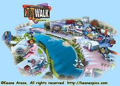 printable map of citywalk universal studios orlando - Google Search