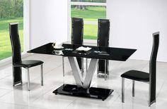 Modern Glass Dining Table Modern Glass Dining Table