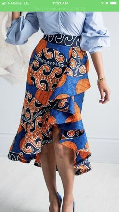 Here Are Some Awesome Africa fashion 5845 African Wear Dresses, African Inspired Fashion, Latest African Fashion Dresses, African Print Fashion, African Attire, Africa Fashion, Ankara Rock, Ankara Stil, African Print Skirt