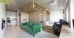 Great distribution and use of the space. Gorki,Courtesy of Ruetemple