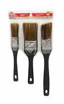 Pk/3 x 6: One Coat Brushes (8290103366C)