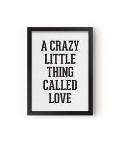 Eef Lillemor Poster A Crazy Little Thing Calleg Love