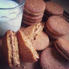 .@joplinroxxx | My peanut butter sandwich #cookies #chefsoninstagram #bakersofinstagram #dess...