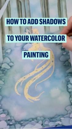 Use This Watercolor Painting Technique to Add Definition and Shadows