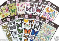 Papermania dimensions3d peel off stickers #butterflies #damselflies #butterfly wi,  View more on the LINK: http://www.zeppy.io/product/gb/2/252384991478/