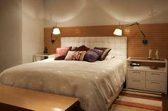 arandelas flexiveis cabeceira cama