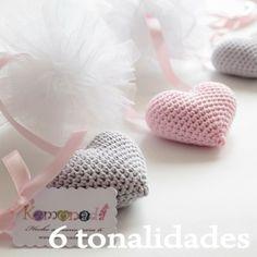 Guirnalda de corazones amigurumi Crochet Home, Love Crochet, Learn To Crochet, Crochet Crafts, Crochet Projects, Crochet Baby, Knit Crochet, Crochet Motifs, Tunisian Crochet