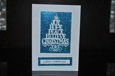 Sue Wilson christmas tree greetings cards | LORRAINE`S CRAFTY PLACE