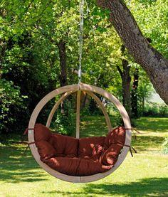 Amazonas – Hangstoel 'Globo' Terracotta  #hangmatten #fairtrade #eco #Hangstoel #Design