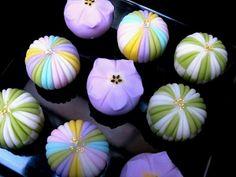 Wagashi-Japanese mochi cake