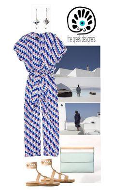 """the greek designers brand"" by katarinaf ❤ liked on Polyvore featuring Meraki, thegreekdesigners and cycladicframes"