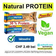 Natural PROTEIN Riegel ♦ vegan ♦ laktosefrei ♦ 30 % Protein ►http://www.active12.ch/Spezialnahrungsmittel/Riegel/Natural-PROTEIN-PowerBar-Blueberry-Nuts.html nur CHF CHF 2.49 #highcarb #highcarbschweiz #highprotein #hoherProteingehalt #muskelaufbau #bodybuilding #bodybuildingschweiz #eatclean #fitness #fitnessschweiz #active12 #natural #NaturalProtein #vegan #laktosefrei #lactosefree #Snacks #highcarbsnack #PowerBar