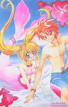 Mermaid Melody, one of my all time favorites! I love mermaids! Yeah, I was one of those girls who pretended to be a mermaid whenever I went swimming.