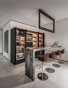 Beautiful Home Bar Designs You'll Go Crazy For. Below are the Home Bar Designs You'll Go Crazy For. This post about Home Bar Designs You'll Go Crazy For was posted under the category by our team at February 2019 at pm. Hope you enjoy it and . Diy Home Bar, Home Bar Decor, Home Bars, Diy Bar, In Home Bar Ideas, Mini Bar At Home, Home Bar Rooms, Bar Interior Design, Home Design