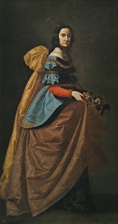 Santa Isabel de Portugal / Saint Elizabeth of Portugal // Hacia 1635 // Francisco de Zurbarán