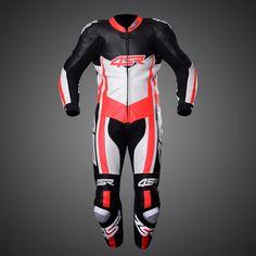 4SR 1PC suit Racing Replica #Superleggera Red