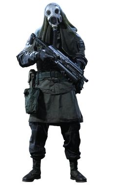 Character Costumes, Character Art, Pikachu Memes, Post Apocalyptic Costume, Military Action Figures, Star Wars Outfits, Ghost Costumes, Black Figure, Future Soldier
