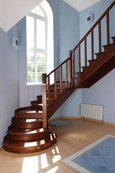 Деревянные лестницы   Лестницы на заказ   Москва http://www.wood-digital.com/ Дубовые лестницы  http://www.wood-digital.com/#!bespoken-wooden-stairs/cbc9