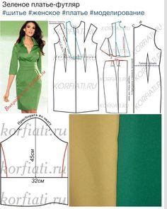 .Mod@ en Linea. Wrap Work Dress