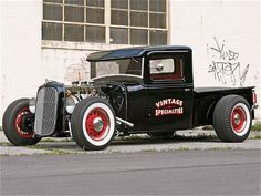 1934 ford truck, love the wheels Hot Rod Trucks, Cool Trucks, Cool Cars, Rat Rods, Custom Cars, Custom Trucks, Classic Trucks, Classic Cars, Hot Rod Pickup