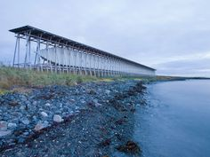 Steilneset Memorial by Peter Zumthor and Louise Bourgeois // Vardø, Norway. (photographed by Andrew Meredith)