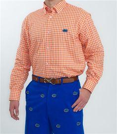 Men's Florida Coach's Dress Shirt by Pennington & Bailes.  Buy it @ ReadyGolf.com