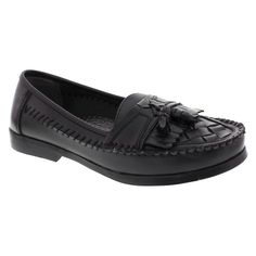 Men's Deer Stags Herman Loafers - Black